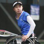 深く考える必要なし。車いすテニスの田中愛美は自然体で勝利を飾る