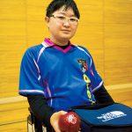 ボッチャ/江崎駿「ボッチャはメンタル勝負。常に冷静なプレーを心がけています」