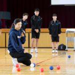 大学生が中学校で授業。ボッチャ体験から学ぶ多様性理解
