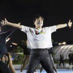 すべてのアスリートが楽しめる「TOKYO SPORT PLAYGROUND SPORT × ART」のオープニングイベントにゆりやんレトリィバアが登場!
