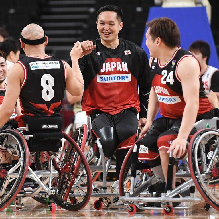 車いすバスケ男女日本代表東京パラ本番会場で強化試合