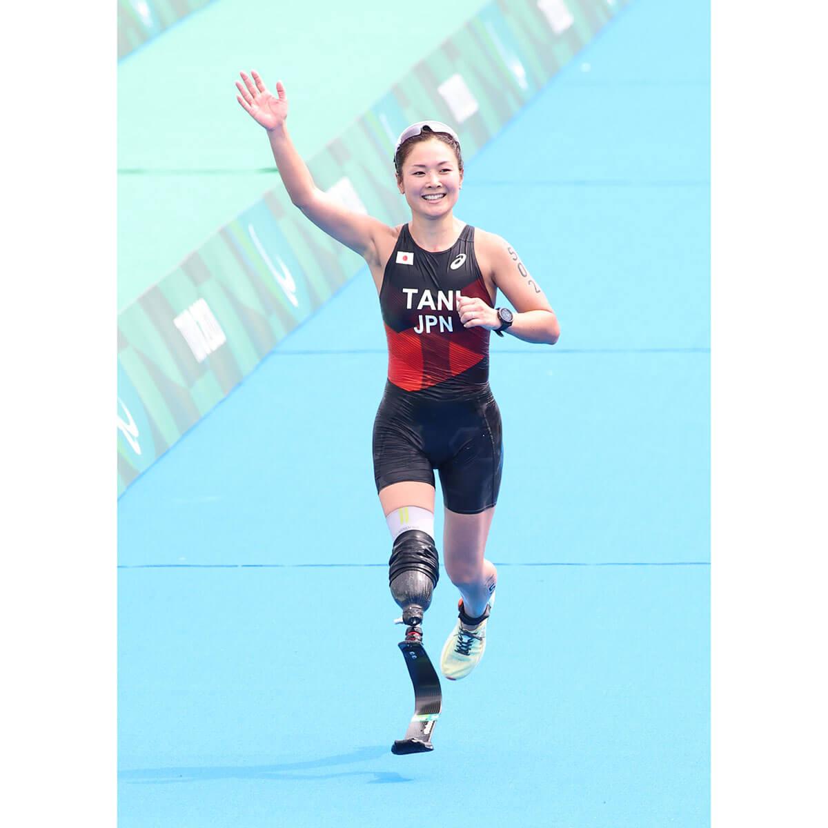 東京パラリンピックの谷真海選手