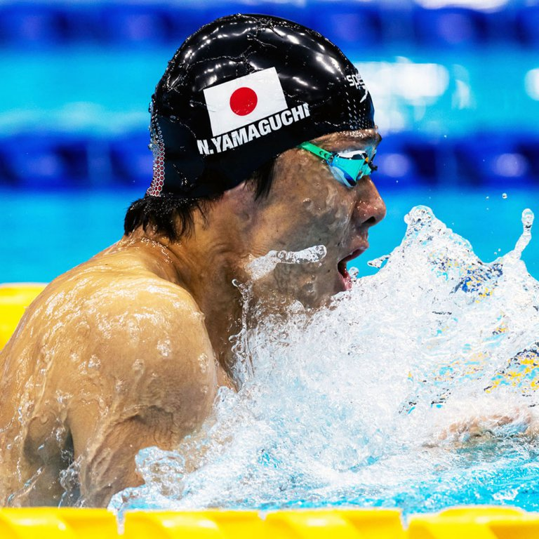 水泳の山口尚秀が100m平泳ぎ世界新で金メダル!