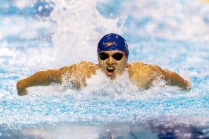 写真:競泳(視覚障がいクラス)木村敬一選手