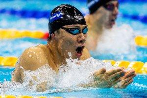 写真:競泳(知的障がいクラス)山口尚秀選手