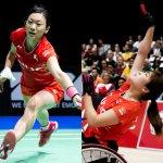 新競技パラバドミントンで、里見紗李奈・鈴木亜弥子選手が金メダルを狙う!