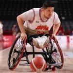 車いすバスケ男子を初の4強に導いた、香西宏昭の真骨頂。
