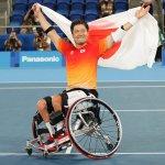 車いすテニス・国枝慎吾が涙の金メダル。自信をよみがえらせた試合とレジェンドからの言葉