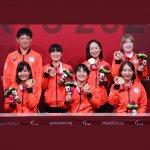 ゴールボール女子は銅メダルを獲得。年間200日の合宿で得た深い信頼と絆
