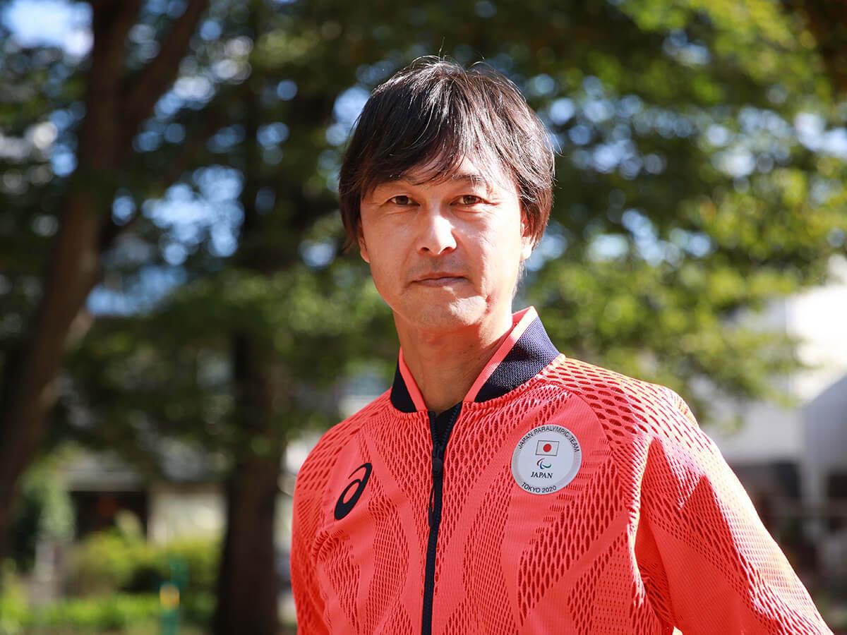 写真::東京2020パラリンピック・車いすテニス競技の日本代表監督を務めた中澤吉裕氏